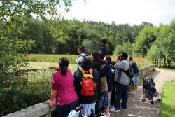 Paseo comunidad familiar Prado Nuevo