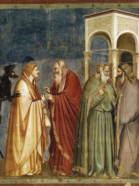 Traición de Judas. Giotto