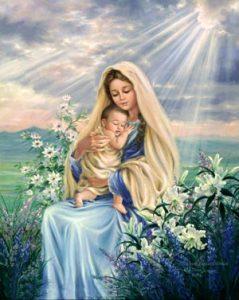 La Virgen María, ejemplo de humildad