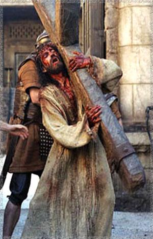 Jesus con la cruz a cuestas