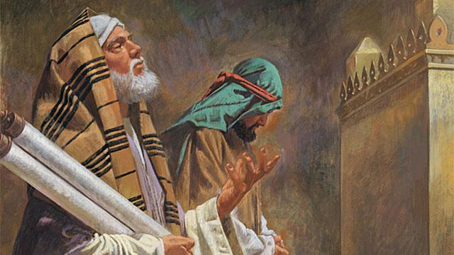 fariseo-y-publicano (Lc 18, 9-14)