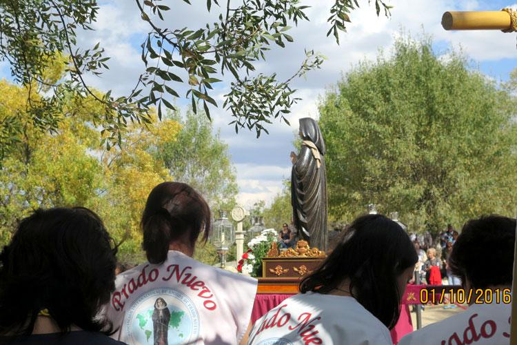 Procesión Virgen de el Escorial