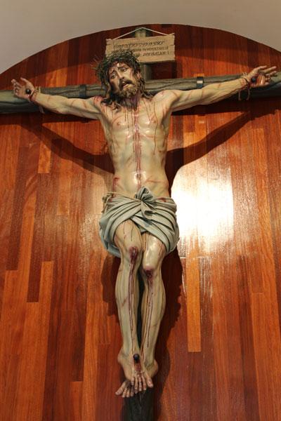 Cristo de la reparación. Virgen de El Escorial