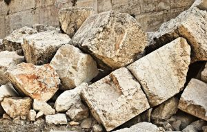 piedras tiradas