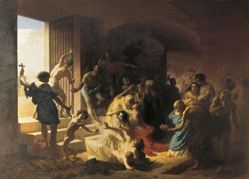 Konstantin Flavitsky - Christian Martyrs in Colosseum