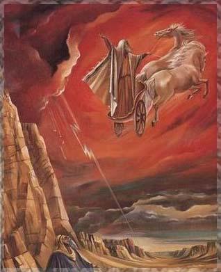 Elías sube al cielo