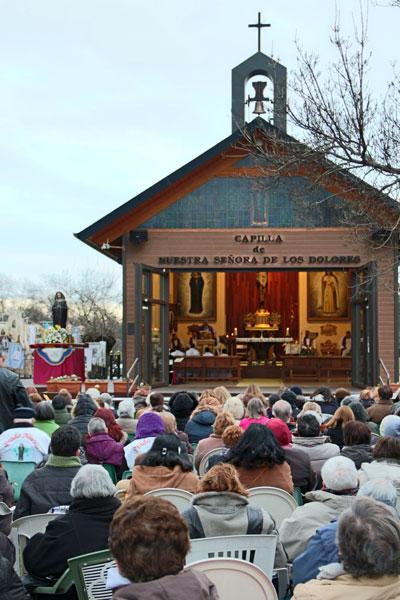 Misa primer domingo de diciembre en El Escorial