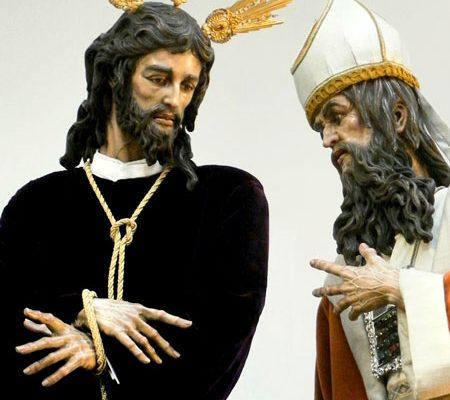Jesús-y-Caifás (Triana Cofrade)