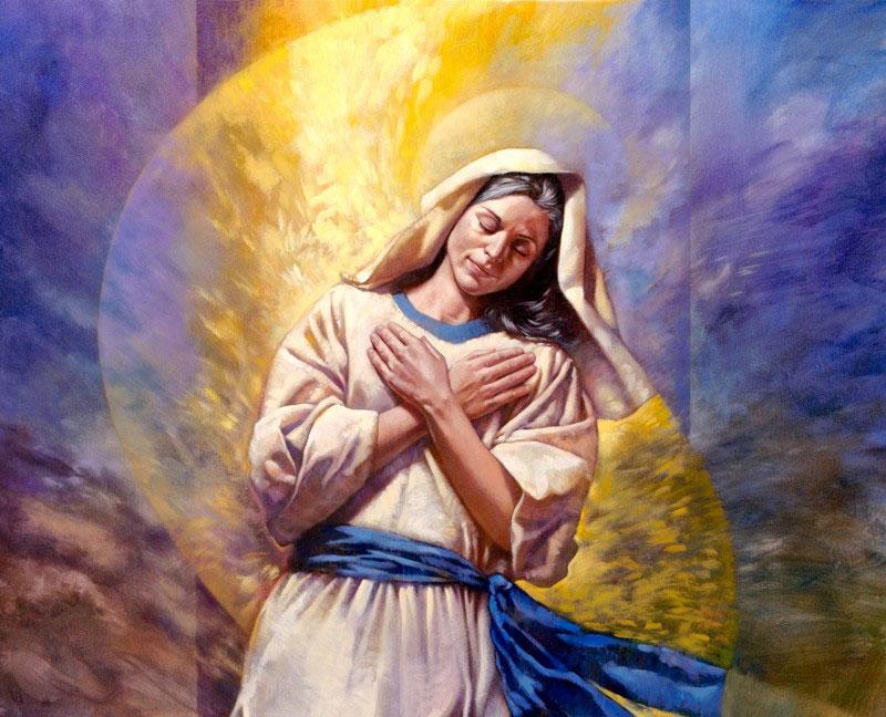 Resultado de imagen para LA PREDESTINACIÓN DE LA VIRGEN MARÍA
