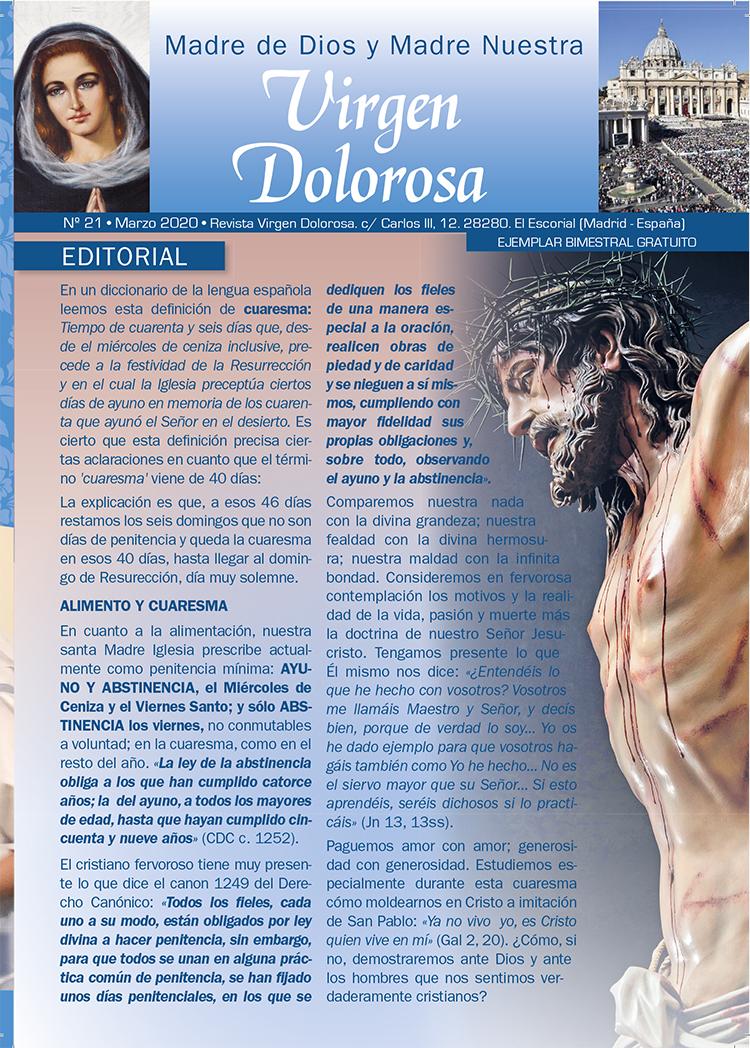Portada Virgen Dolorosa Prado Nuevo