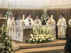Acompañamos a Ignacio Escrivá en su primera misa en la Parroquia de Buen Suceso.